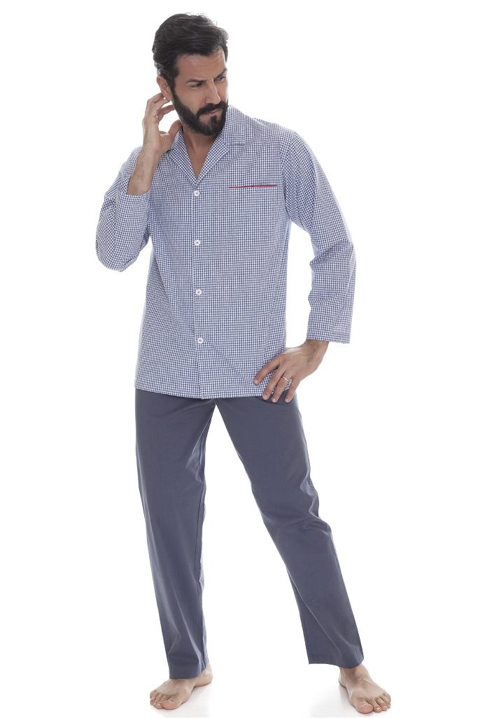Мужская пижама в клетку B&B