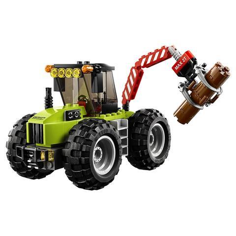 LEGO City: Лесной трактор 60181 — Forest Tractor — Лего Сити Город
