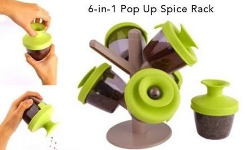 KP-016 Набор для специй Spice Rack
