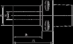 Держатель расточного резца PSC 80