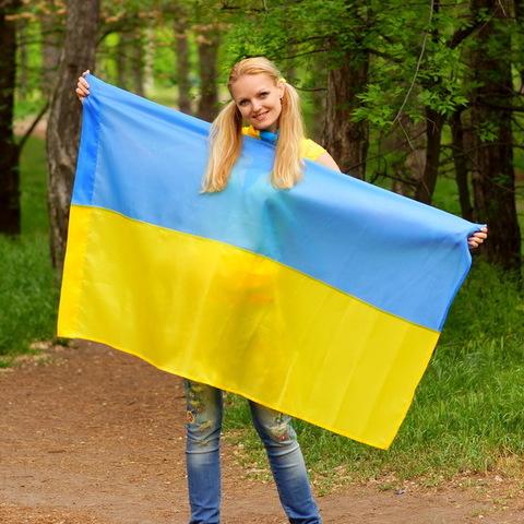 Флаг Украины Q-2 (135*90)