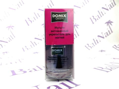 DOMIX Green, Мультивитаминный укрепитель для ногтей, 11 мл