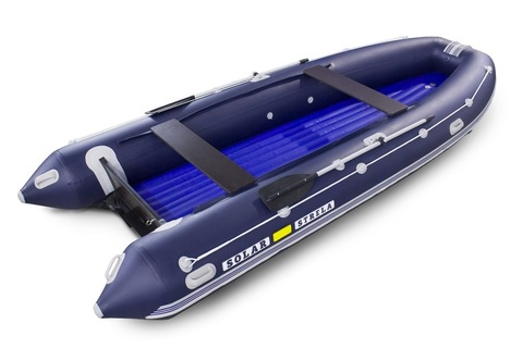 Надувная ПВХ-лодка Солар - 520 Strela Jet Tunnel (синий)