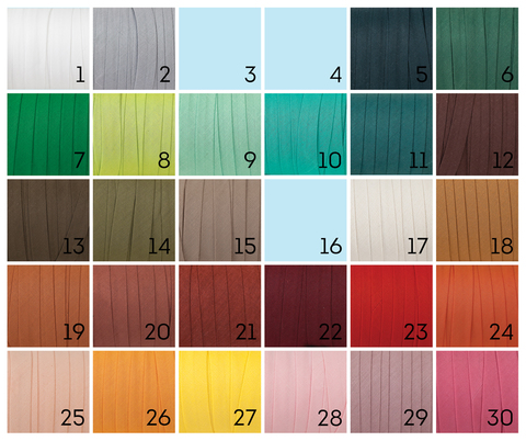 Хлопковая косая бейка, 32 цвета