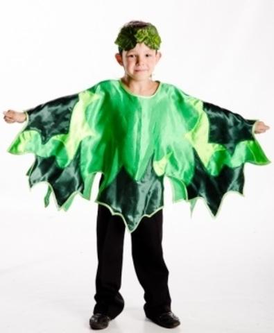 Костюм Лист зелёный