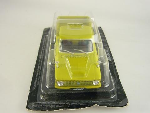 IZH-27151 dark yellow 1:43 DeAgostini Auto Legends USSR #103