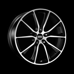 Диск колесный BBS SV 10.5x22 5x112 ET45 CB66.5 satin black/diamond cut