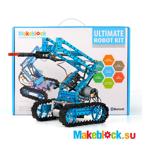 Makeblock Ultimate Robot Kit V2.0 — расширенный образовательный комплект (10-в-1)