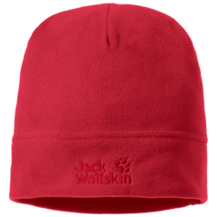 Шапка флисовая Jack Wolfskin Real Stuff Cap red lacquer