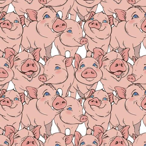 веселые свинки