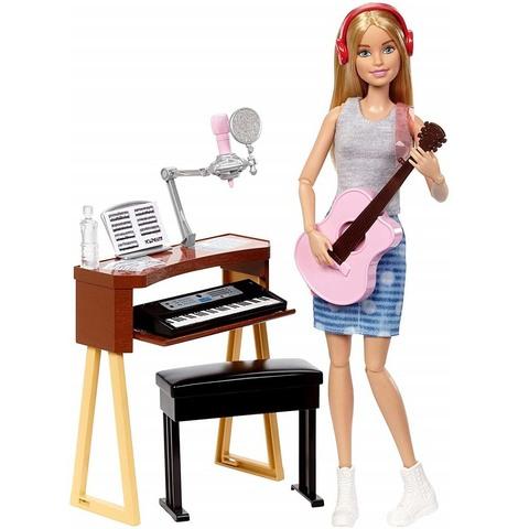 Барби с музыкальными инструментами Блондинка