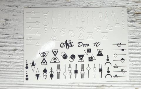Слайдер Arti 3D Deco № 010