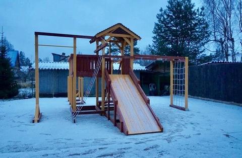 Деревянная детская площадка Савушка