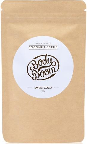 BODY BOOM Cкраб для тела Sweet coco 100г