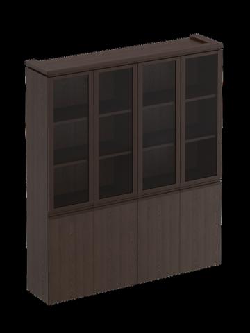 МК 360 ДА  Шкаф для документов со стеклянными дверями