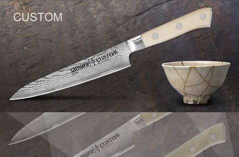 Кухонный универсальный нож Samura by Custom, арт. SCU-0023