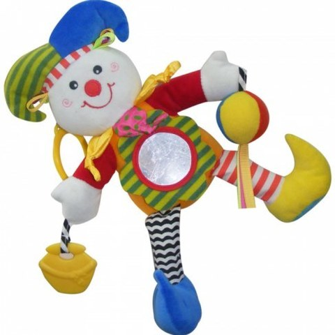 Игрушка-подвеска Biba Toys Клоун MS032