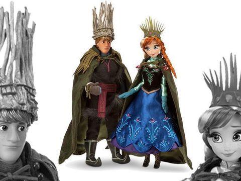 Набор кукол Анна и Христоф Фрозен, и тролли в магазине Магия кукол
