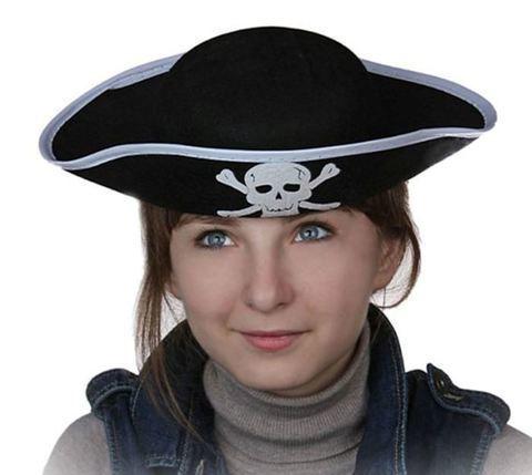 Купить пиратскую треуголку - Магазин