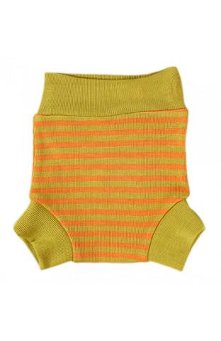 Однослойные пеленальные штанишки (Полоска-липа, S)