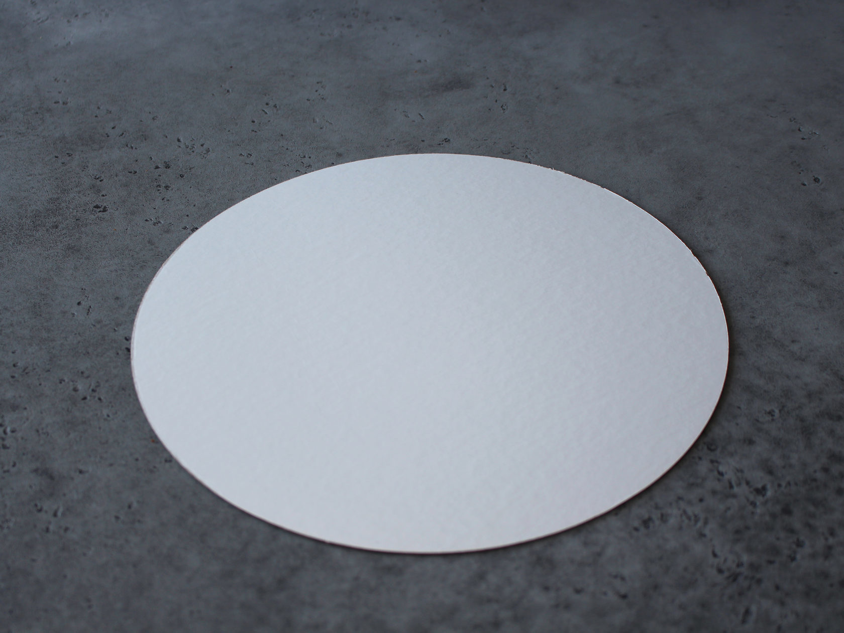 Подложка белая/золотая 30 см, 3,2 см