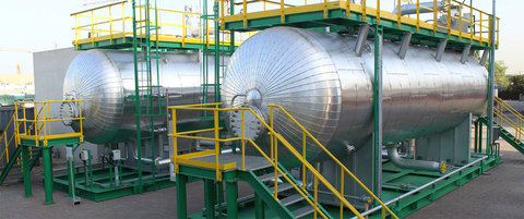 Системы подготовки нефти (электродегидраторы и системы их питания)