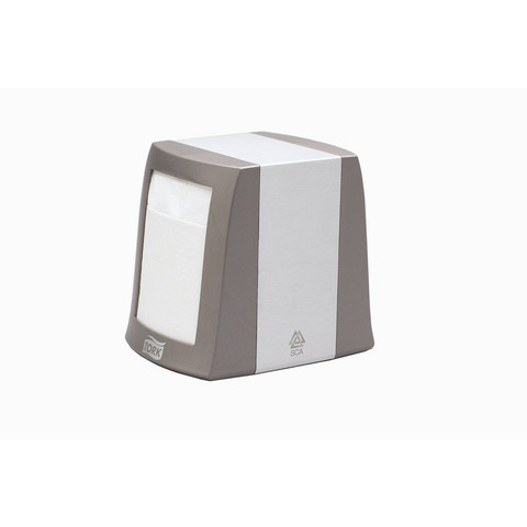 Диспенсер для салфеток Tork 271800 N2 настольный металлический серый