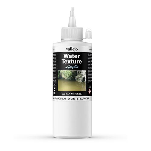 Вспомогальные жидкости 26230 Still Water Связующее Эффект Воды, 200 мл Acrylicos Vallejo V26230.jpg