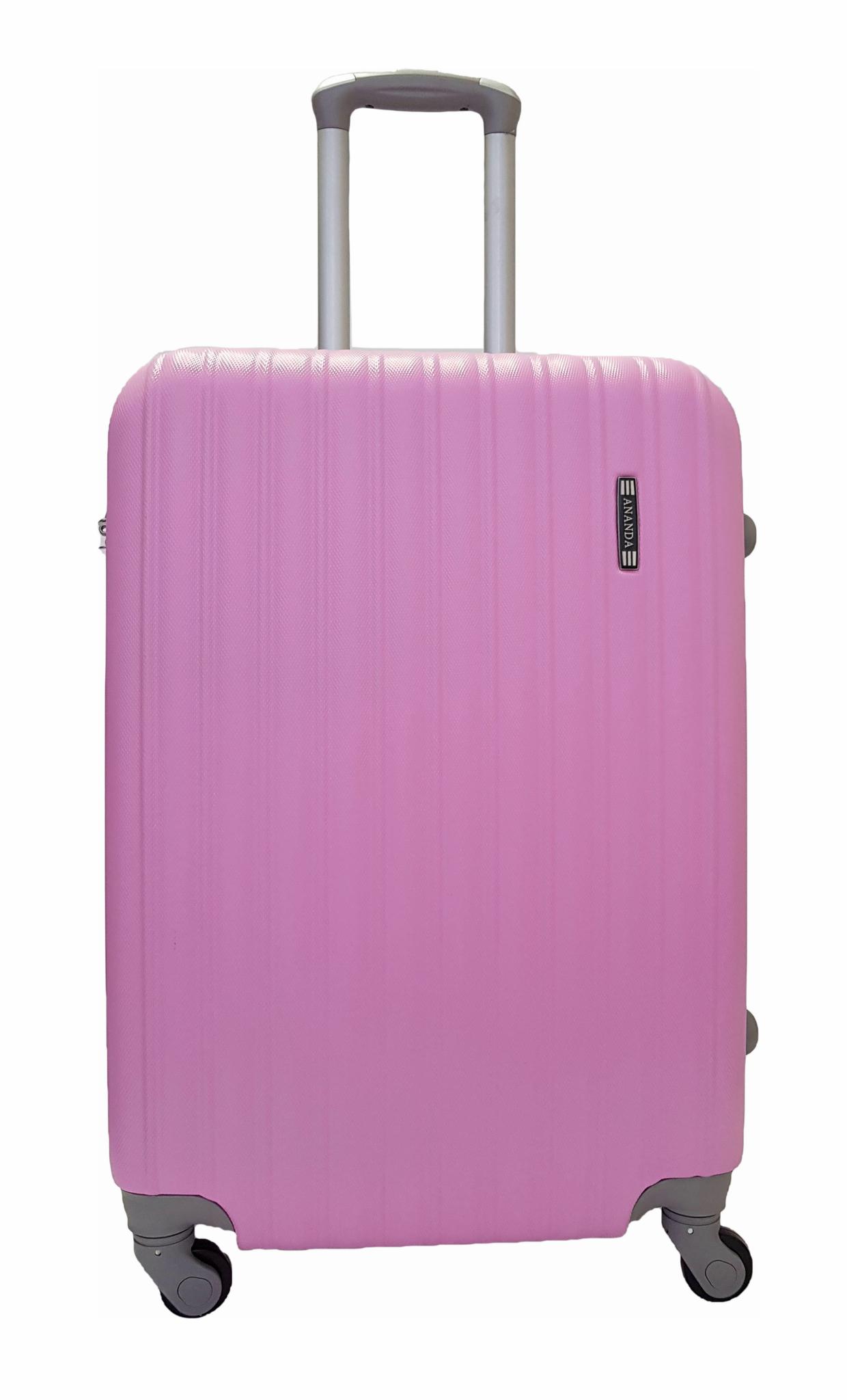 Чемодан Ananda APL-833 Розовый (L)