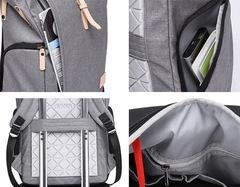 Рюкзак антивор молодёжный для ноутбука 15,6 KAKA 17002 синий