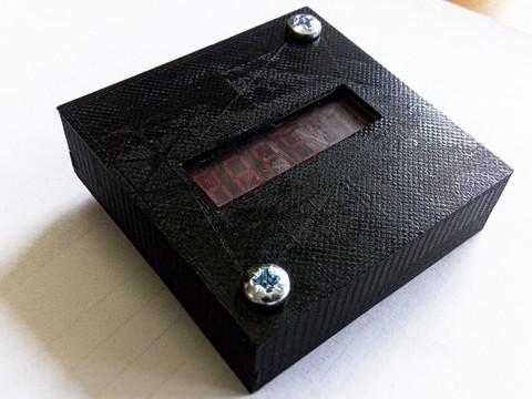 Счетчик времени наработки Донконт-1 (пластиковый корпус)