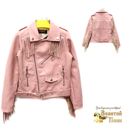 Куртка экокожа девочке (6-11) 200305-T1903.1