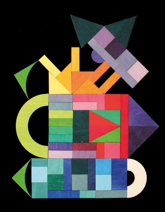 Магнитная мозаика Географические фигуры