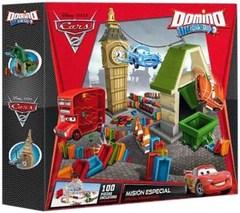 Disney Трек с костяшками домино Тачки-2 Domino Click and Go 100 шт (0002DC)