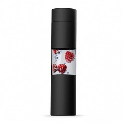 Бутылка Asobu Flavor U See (0,46 литра), черная