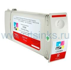 Картридж для HP 773 (C1Q38A) Red 775 мл