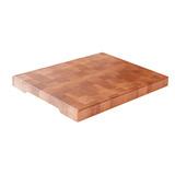 Доска торцевая разделочная, клён норвежский 40 х 30 х 4 см, артикул TD00103, производитель - Origins Wood