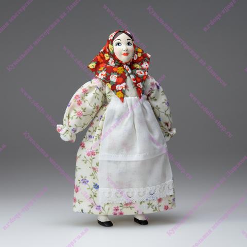 Кукла-нянюшка по мотивам кукол из коллекции А.Н.Бенуа