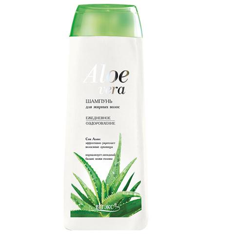 Витэкс Aloe Vera Шампунь для жирных волос «Ежедневное оздоровление» 500 мл