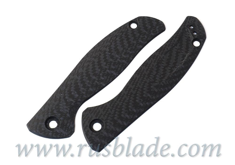 Shirogorov F3 carbon fiber handle scales