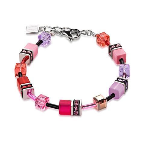 Браслет Coeur de Lion 2838/30-0325 цвет розовый, фиолетовый
