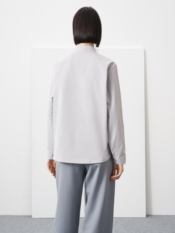 Рубашка-косоворотка Sandra, Светло-серый
