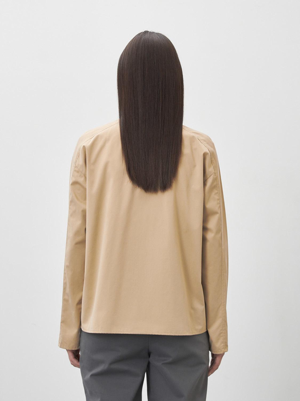 Рубашка Victoria с широкими рукавами, Бежевый