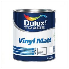 Краска для стен и потолка Dulux Trade Vinyl Matt BW (Белый)