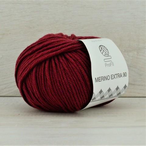 Пряжа Merino Extra (Мерино экстра 90) Бордовый