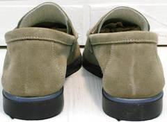 Модные женские туфли лоферы без каблука Osso 2668 Beige.