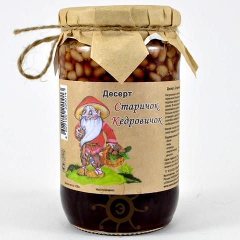 Кедровые орехи в сосновом сиропе Коломенское, 430г