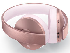PS4 Гарнитура беспроводная Gold Wireless Headset (CUHYA-0080: SCEE, розовая)