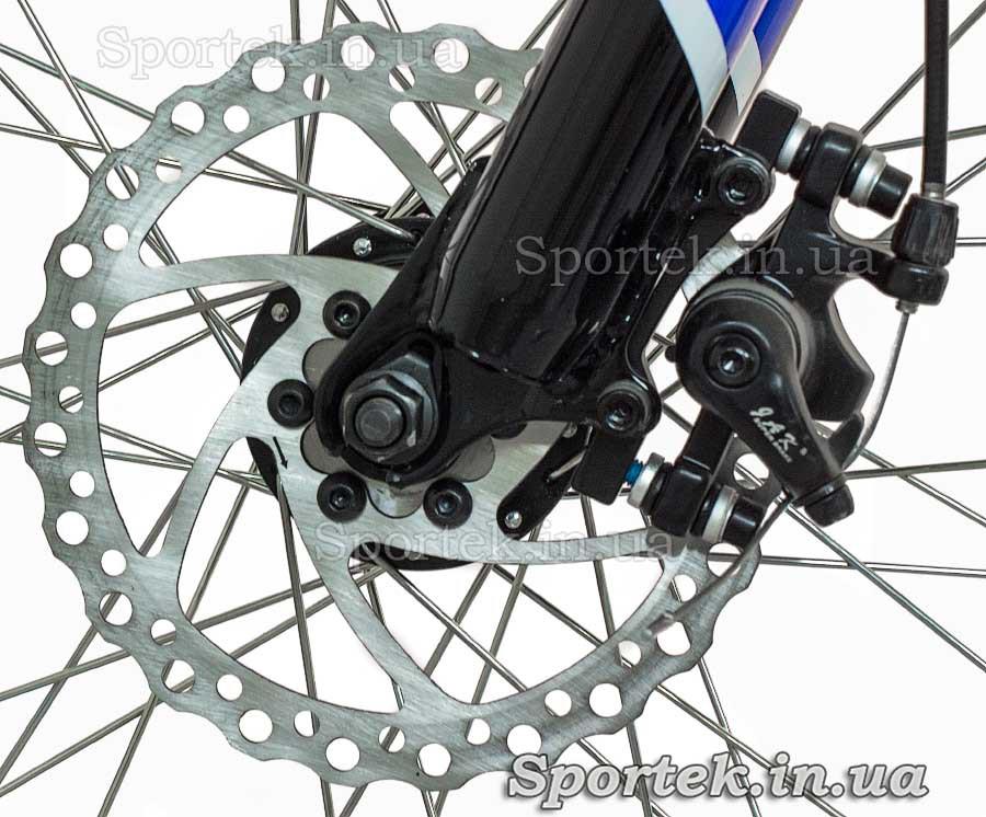 Передний дисковый тормоз горного универсального велосипеда Формула Родео (Formula Rodeo DD 2015)