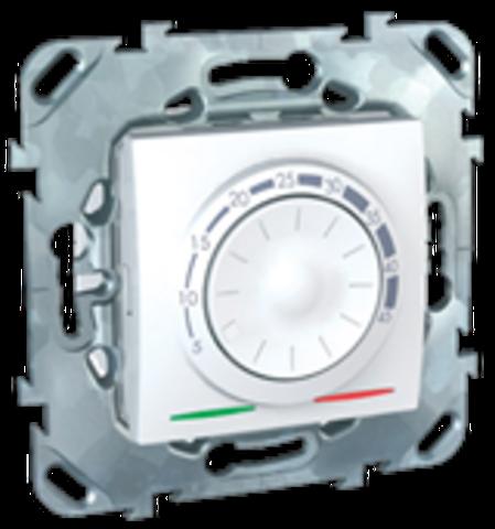 Терморегулятор теплого пола. Цвет Белый. Schneider electric Unica. MGU5.503.18ZD